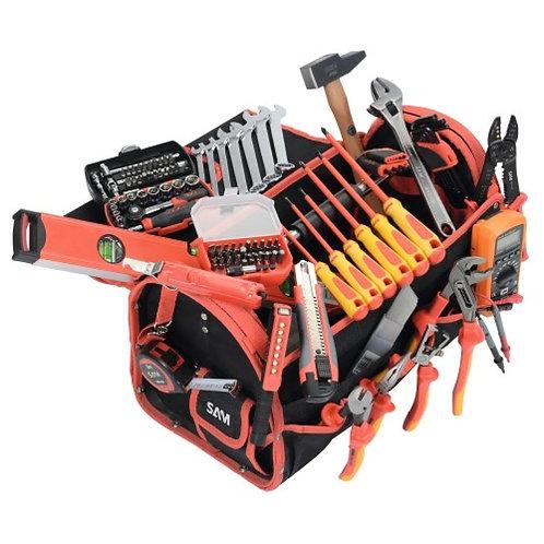 SAM - Sac à outil Electricien complète - 125 outils