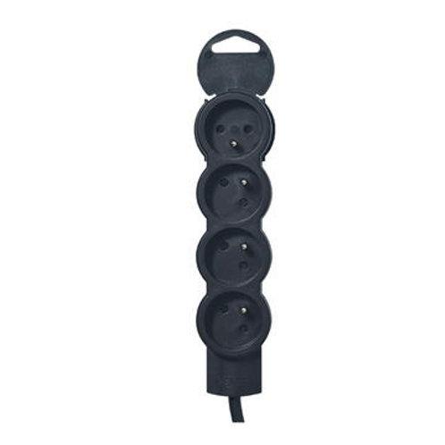 Rallonge 4 prises de courant - cordon 3 m