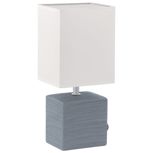 EGLO - TL / 1 E14 gris / blanc 'MATARO'