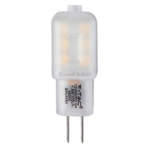 VTAC - Projecteur en plastique ampoule 1.5W G4 avec puce samsung code couleur :