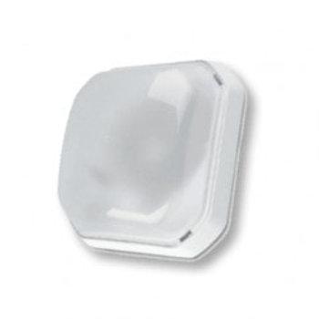 BORSAN - Armatur kare soft beyaz (ikili kutu)