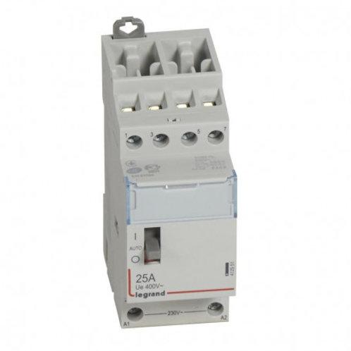 Contacteur de puissance bobine 2 modules