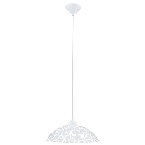 EGLO - HL / 1 blanc avec décor 'VETRO'