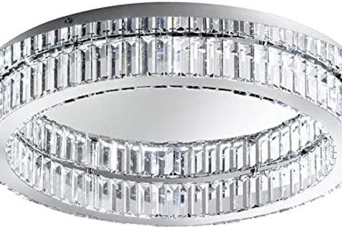 EGLO - LED-CL Ø700 chrome / cristal 'CORLIANO'