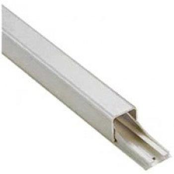 Goulotte pour 1 câble de 7 et 9 mm blanc