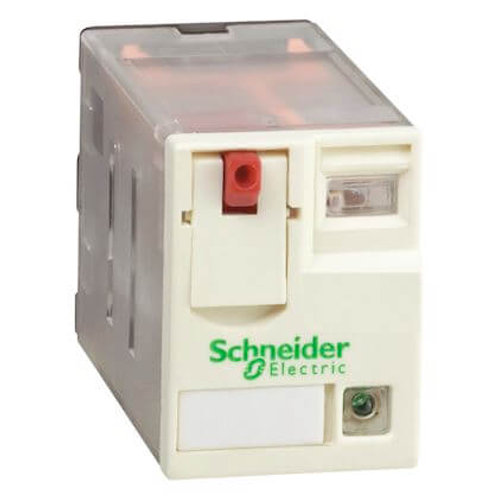 SCHNEIDER - RELAIS MINIATURE LED 4C/O 24VAC