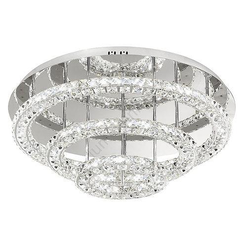 EGLO - LED-CL Ø750 chrome/crystal'TONERIA'