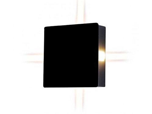 VTAC - VT-704 4W lumière muraleLED IP65 corps noir3000K