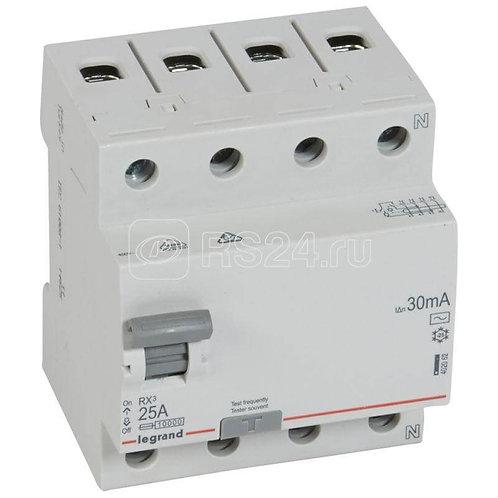 LEGRAND - Interrupteur Différentiel RX3 ID 4P 25A AC 30MA