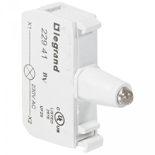LEGRAND - ACS BLOC LED  230V ROUGE VIS