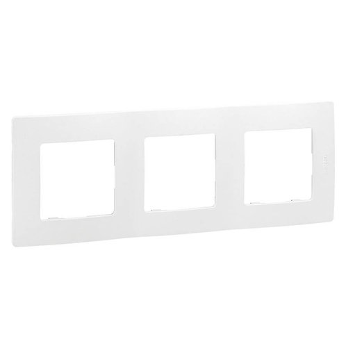 LEGRAND - Plaque triple 71 blanc