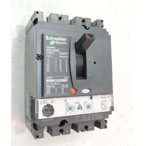 Disjoncteur de puissance 250A 3P 3D 690V COMPACT NSX250N