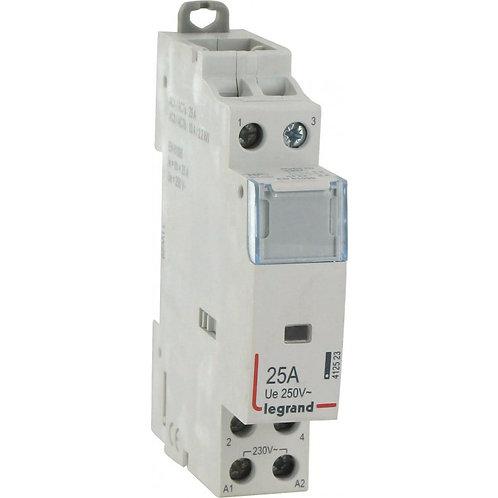 Contacteur de puissance - 2 contacts à fermeture - 25 A