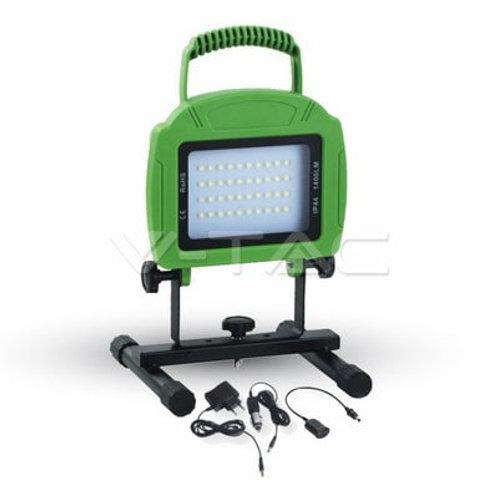 VTAC - Projecteur 20W rechargeable floodlight code couleur :4000K