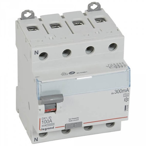 LEGRAND - Interrupteur différentiel 4P 100A 300MA