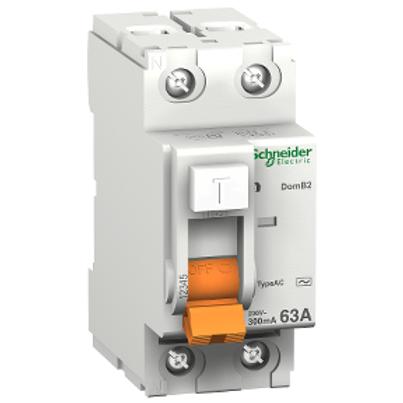 SCHNEIDER - Interrupteur différentiel 2P 25A 300mA TYPE 1