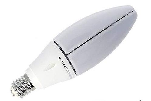 VTAC - Ampoule 60W lampe oliveLED samsung chip code couleur : 6400K E40