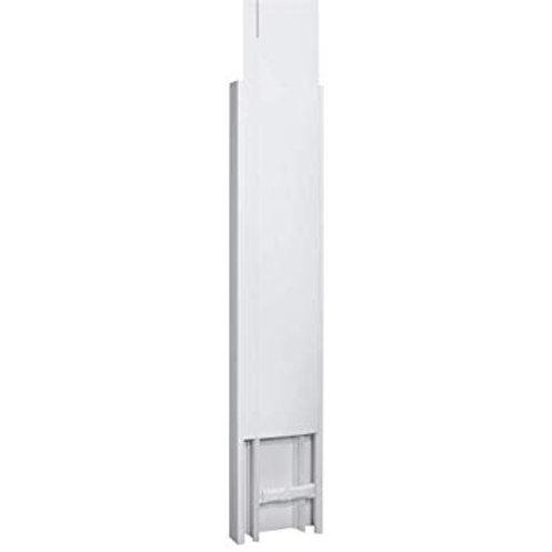 Goulotte GTL 65x250 mm - 2 couvercles partiels - long réglable 2,45a 2,60 m