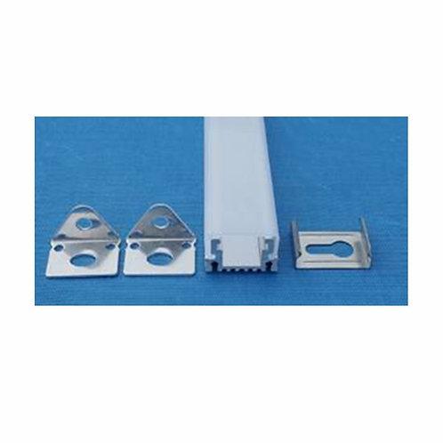 VTAC - PROFILS EN ALUMINIUM 15 * 10 * 1000mm - MAT: