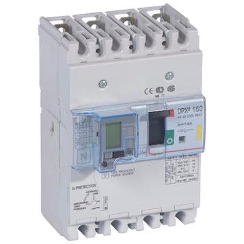 DPX³ 160 magnétothermiques différentiels