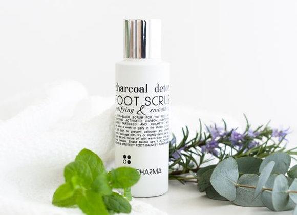 Charcoal Foot scrub