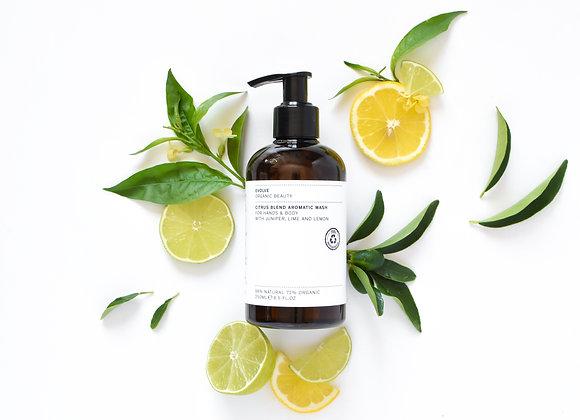 Citrus Blend Aromatic Body Wash 250 ml (Evolve)