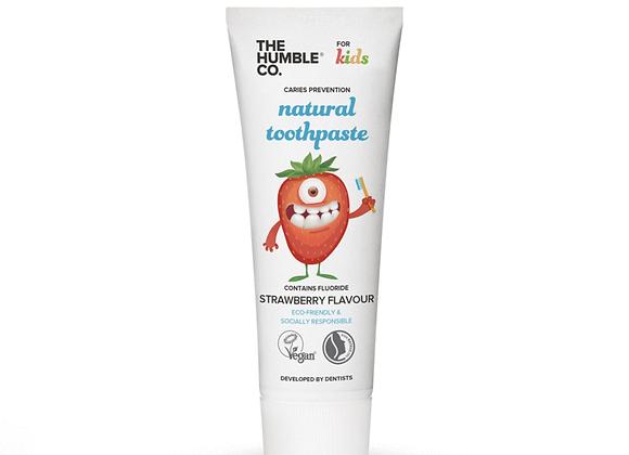 Natuurlijke tandpasta kids - Strawberry - 75 ml