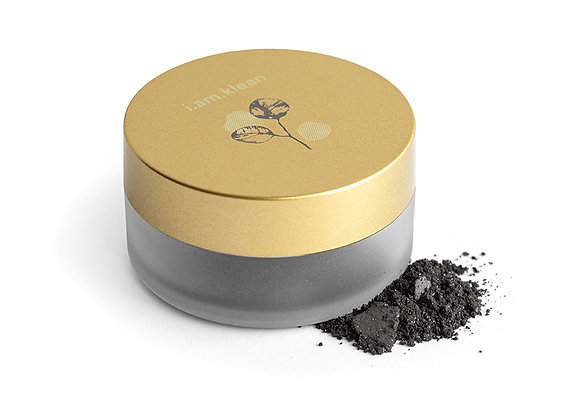 Loose mineral eyeshadow - Black Pearl