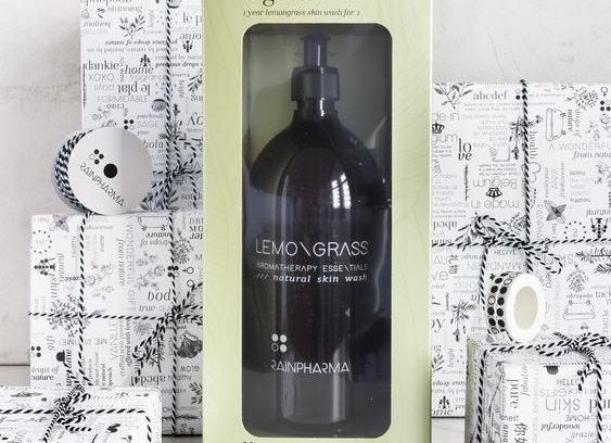 Big Love - Lemongrass Skin wash 1L + Body wonder towel
