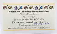 Nestin' on Lakeview Bed & Breakfast