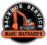Marc Maynard Backhoe Service