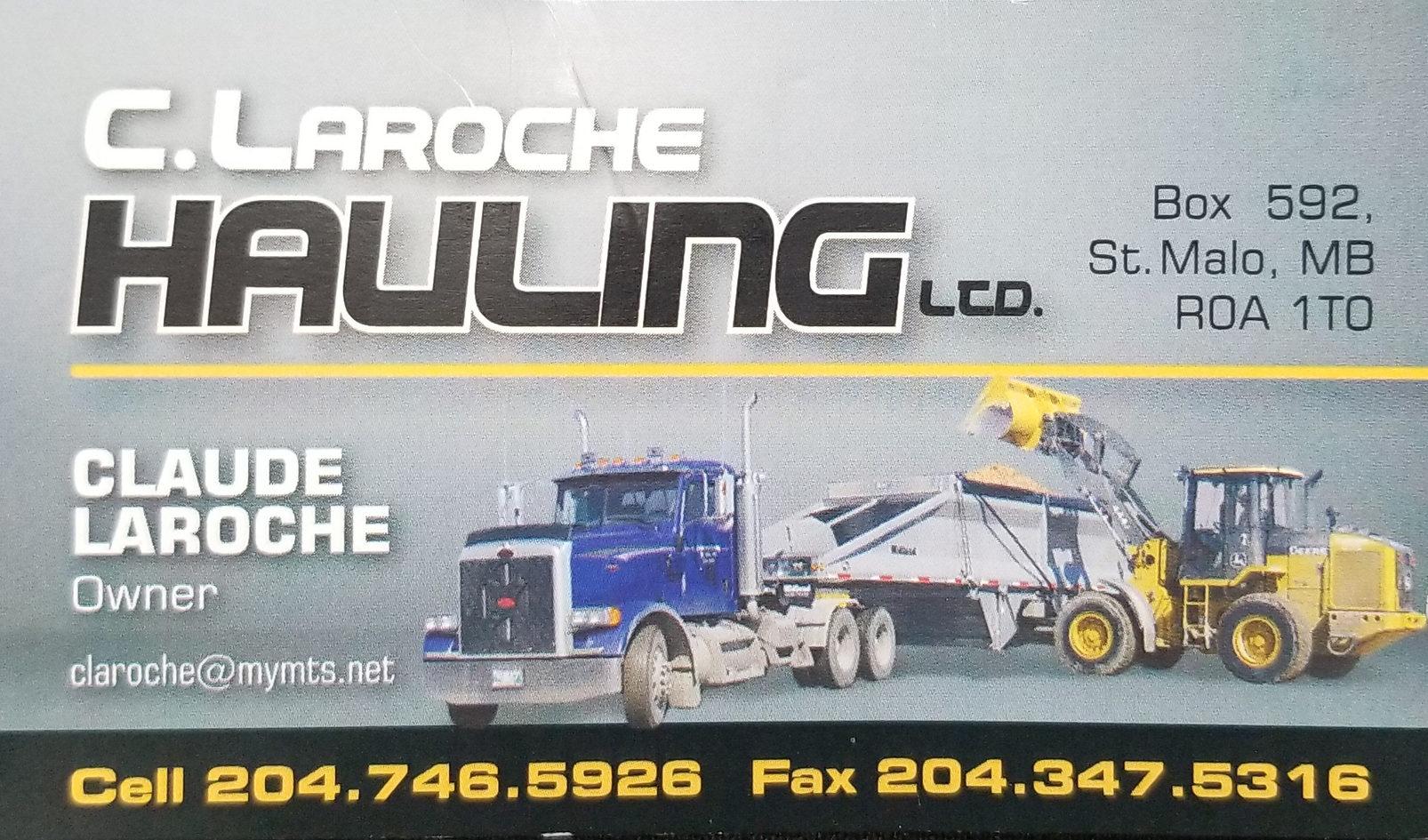 C. Laroche Hauling