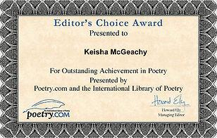 Editor's Choice Award No More Birthdays-