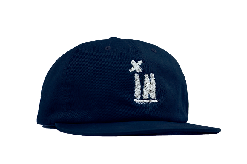Welsh 6 Panel Hat- Navy