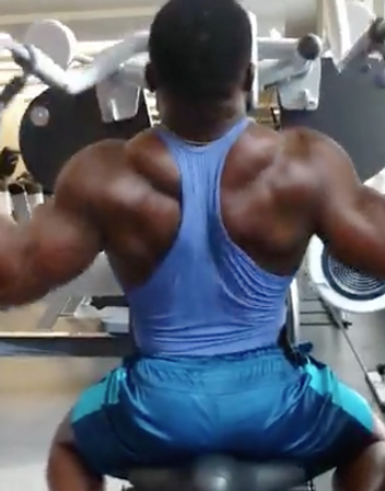 Strength exercise for the back, to build thickness and width. Machines are great tools to build muscles and strength as well.