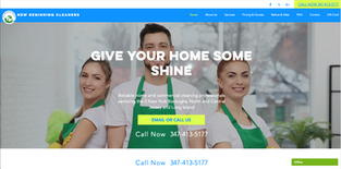 New Beginning Cleaners