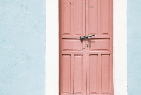 Door Series | Cyan