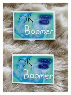 Ok Boomer Rectangle stickers