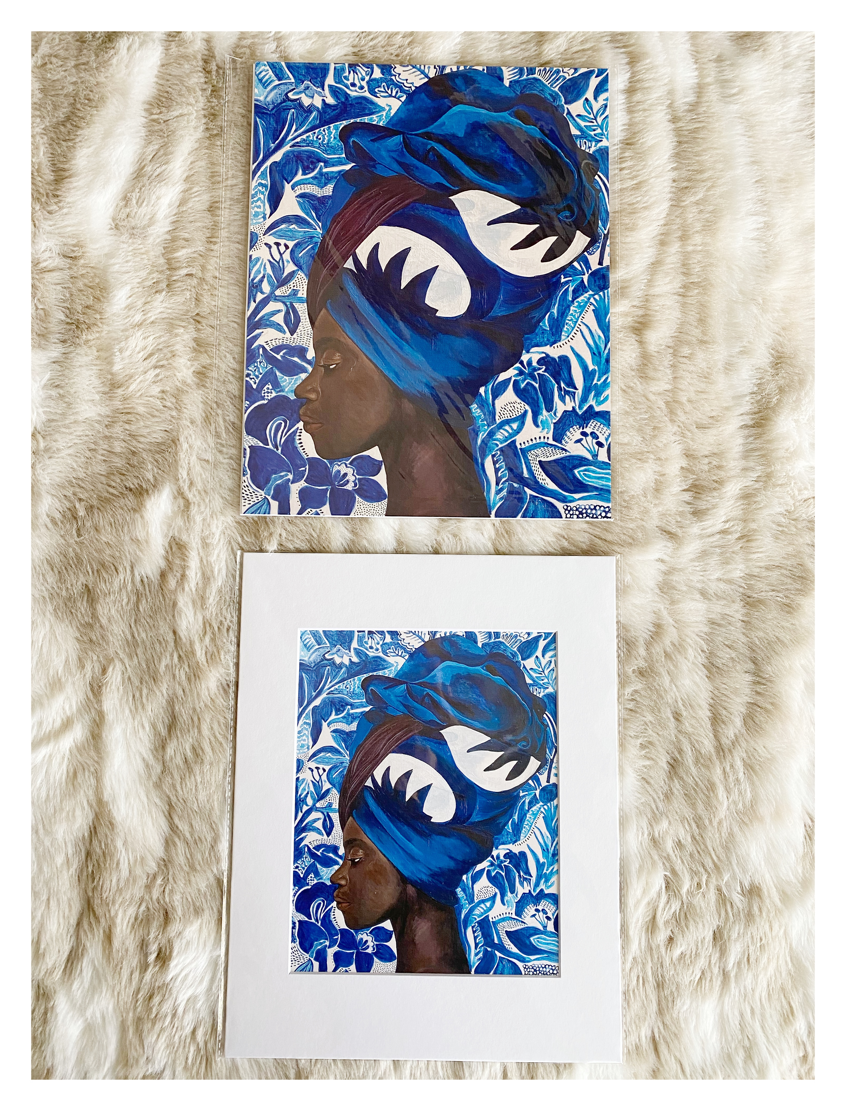 Cerulean Dream Prints