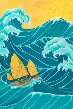 "Ayda Rose - Title: ""Celestial Sails"""