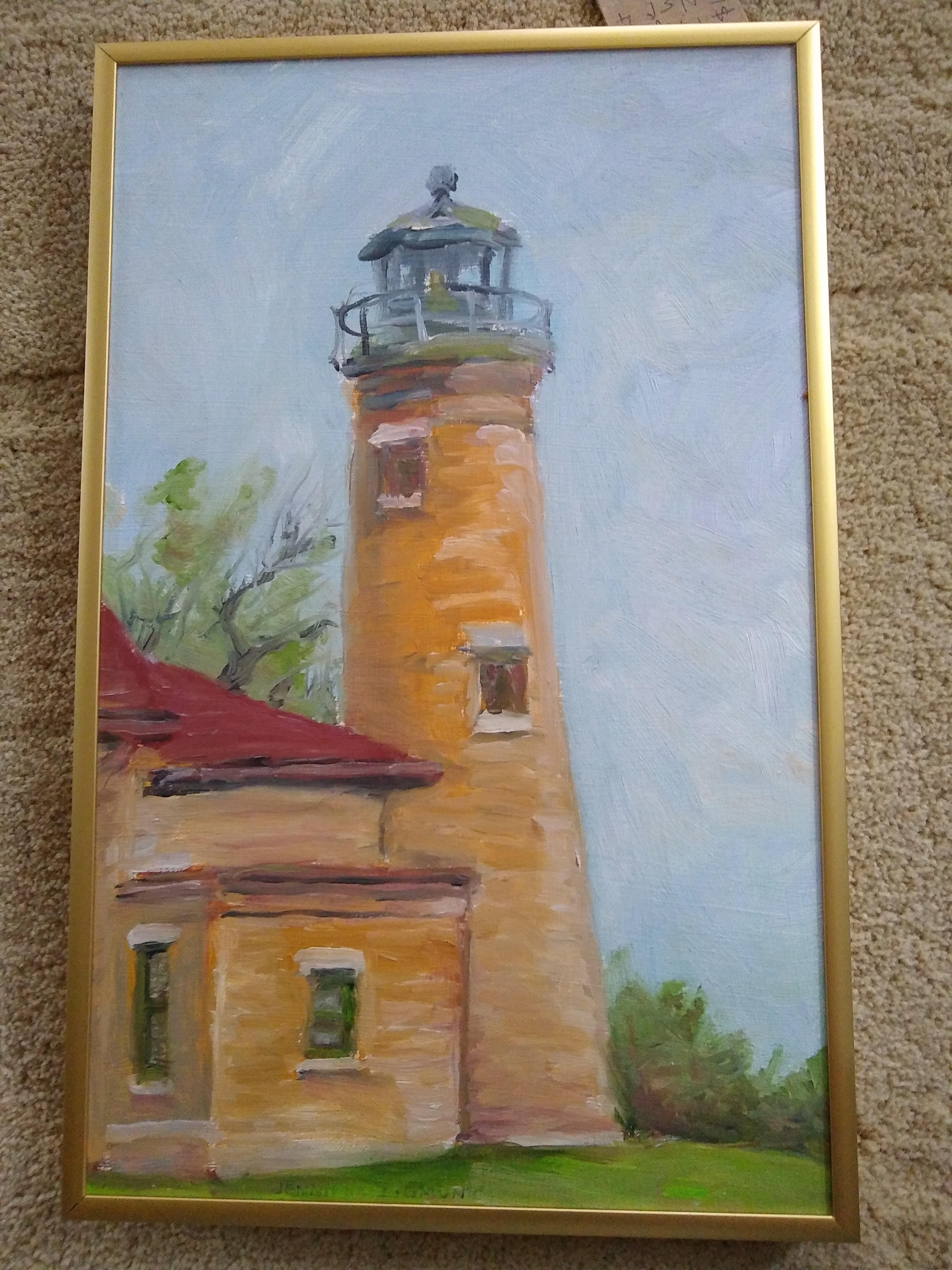 Jennifer Zygmunt - Title: South Port Lighthouse