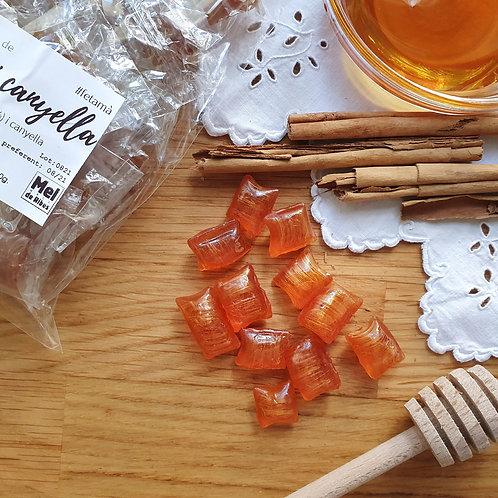 Caramels de mel i canyella