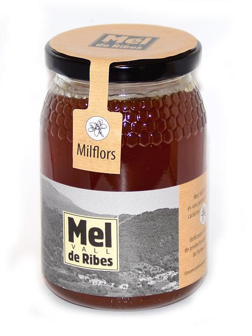 Mel de milflors (Pirineu) 500g.