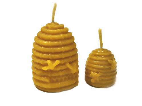 Espelmes de cera pura d'abella