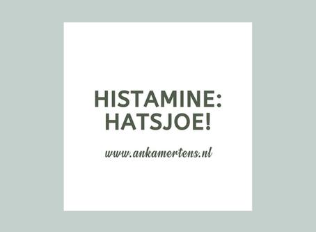 Hatsjoe! Histamine!