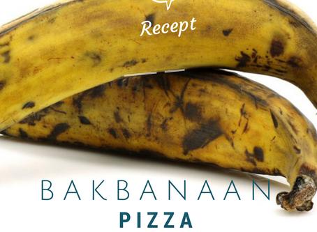 Banaanpizza!