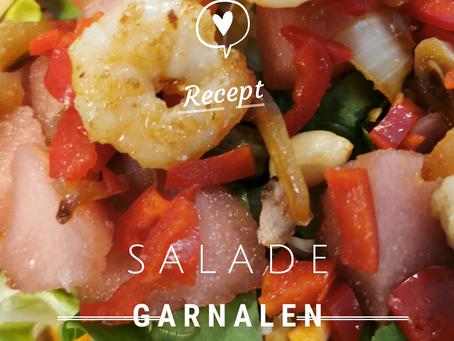 Garnalen in de salade