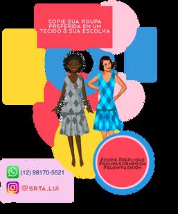 flyer Srta. Lui / Ilha Bela