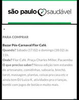 Sao Paulo Saudável