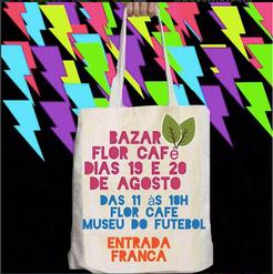flyer agosto Bazar Flor Café